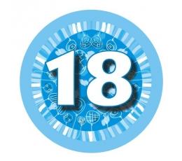 """Ženkliukas""""Melsvi balionėliai-18"""" (7.7cm.)"""