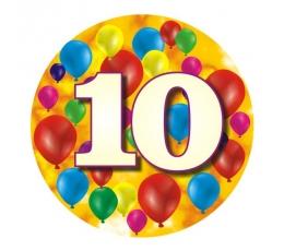 """Ženkliukas""""Spalvoti balionėliai-10"""" (7.7cm.)"""
