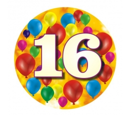 """Ženkliukas""""Spalvoti balionėliai-16"""" (7.7cm.)"""