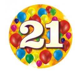 """Ženkliukas""""Spalvoti balionėliai-21"""" (7.7cm.)"""