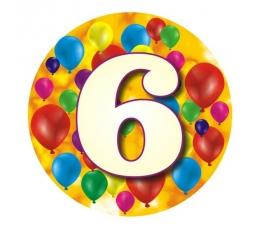 """Ženkliukas""""Spalvoti balionėliai-6"""" (7.7cm.)"""