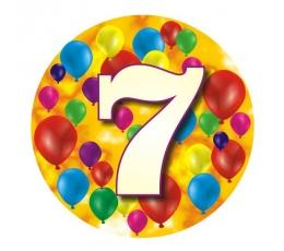 """Ženkliukas""""Spalvoti balionėliai-7"""" (7.7cm.)"""