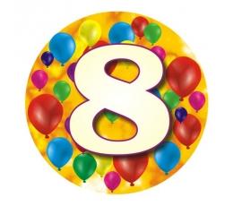 """Ženkliukas""""Spalvoti balionėliai-8"""" (7.7cm.)"""