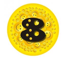 """Ženkliukas""""Šypseniukai-8"""" (7.7cm.)"""