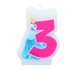 Žvakutė skaičius/Princesė