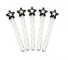 Žvakutės su žvaigždutėmis (8vnt.)