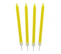 Žvakutės, geltonos (10 vnt.)