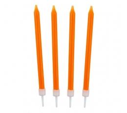 Žvakutės, oranžinės (10 vnt.)