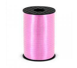 Plastikinė juostelė, rausva (5mm/225m)