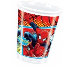 """Plastikiniai puodeliai """"Spiderman"""" (8 vnt./200 ml)"""