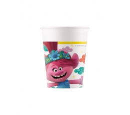"""Popieriniai puodeliai """"Troliai"""" (8 vnt./200 ml)"""