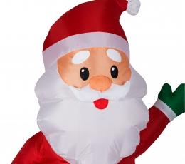 """Pripučiama šviečianti dekoracija """"Kalėdų Senelis"""" (65x55x120 cm/3 LED) 1"""
