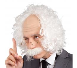 Profesoriaus perukas, baltas