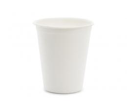 Puodeliai iš cukranendrių, balti (6 vnt./250 ml)