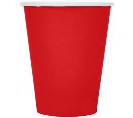 Puodeliai, raudoni (24 vnt./266 ml)