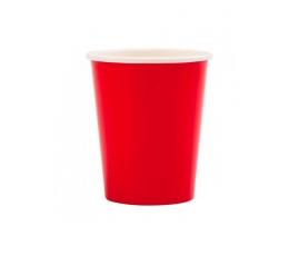 Puodeliai, raudoni (8 vnt./250 ml)