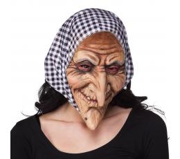 Raganos kaukė su skarele