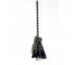 Raganos šluota su žiurke (75 cm)