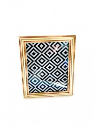 (NUOMA) Rėmelis nuotraukoms, sendintas auksinis (16x21 cm)