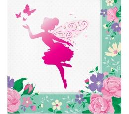 "Servetėlės ""Gėlių fėja"" (16 vnt.)"