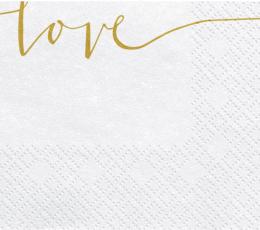 "Servetėlės ""Love"" (20 vnt.) 1"