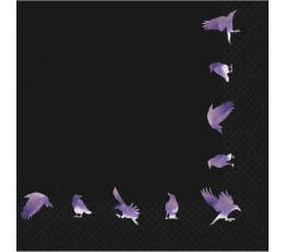 """Servetėlės """"Paslaptingi paukščiai"""" (16 vnt.)"""
