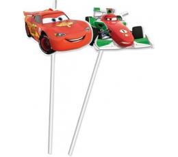 """Šiaudeliai """"Cars Ice"""" (6 vnt.)"""