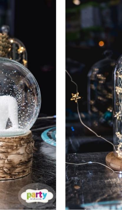 Sidabru tviskantis žiemos dekoras
