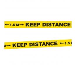 """Skiriamoji juosta """"Keep distance"""" (15 m)"""