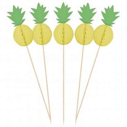 """Smeigtukai-dekoracijos """"Ananasai"""" (10 vnt.)"""