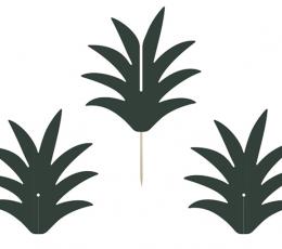 "Smeigtukai-dekoracijos ""Ananaso kotas"" (6 vnt.) 1"