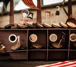 """Smeigtukai-dekoracijos """"Piratai"""" (10 vnt.) 1"""