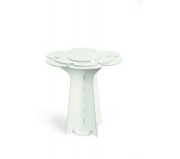 """Staliukas """"Gėlė"""", baltas aukštas (60X58 cm)"""
