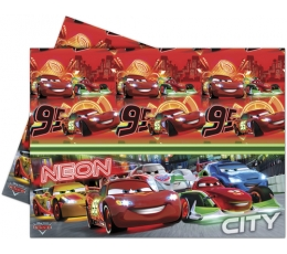 "Staltiesė ""Cars Neon"" (120x180 cm)"