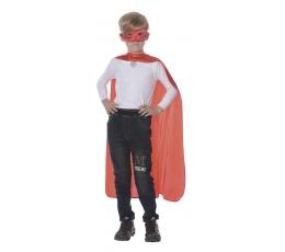 Superherojaus kostiumas, raudonas