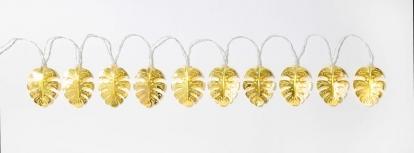"""Švieselių LED girlianda stalui """"Aukso palmės"""" (2 m)"""