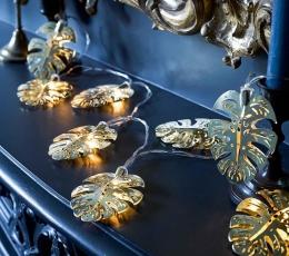 """Švieselių LED girlianda stalui """"Aukso palmės"""" (2 m) 1"""