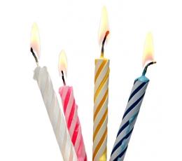 Torto žvakutės, spalvotos (24 vnt.)