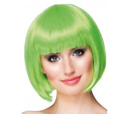 Trumpų plaukų perukas, salotinis