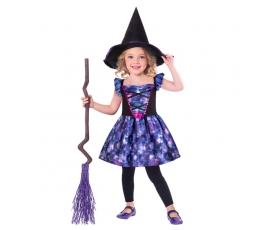 """Tvarus kostiumas """"Neoninė raganaitė"""" (4-6 m.)"""