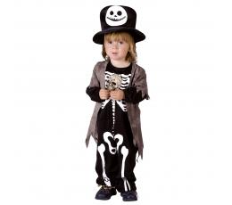 """Vaikiškas kostiumas """"Skeletas išdykėlis"""" (3-4 m.)"""