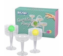 """Vakarėlio žaidimas """"Taurių Ping-pong"""""""
