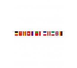 "Vėliavėlių  girlianda ""Europa"" (5 m)"