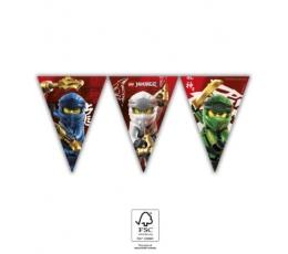 "Vėliavėlių girlianda ""Lego Ninjago"" (9 vėliavėlės)"