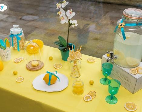 Vitaminų dozė, arba citrinos dekore