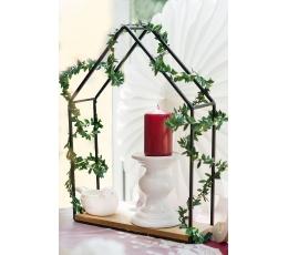 (NUOMA) Žvakidė, balta keramikinė (12 cm)