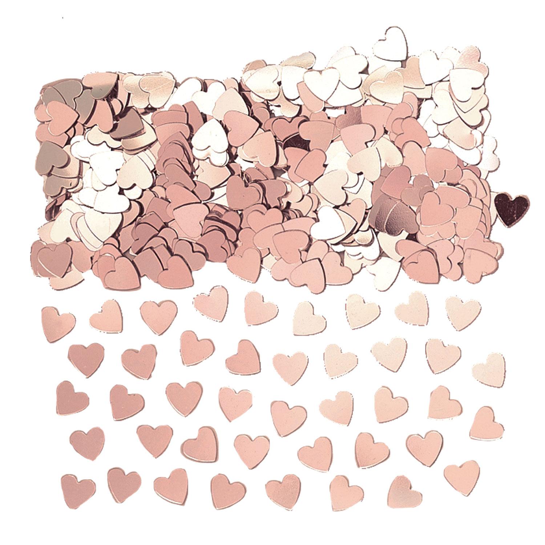 """Konfeti """"Rožinio aukso širdelės"""" (14 g)"""