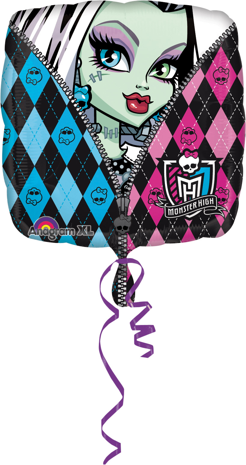 "Folinis balionas ""Monster High"" (43 cm)"