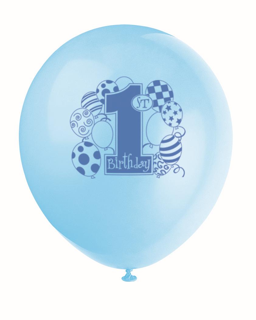 "Balionai ""1-asis berniuko gimtadienis"" ( 8 vnt.)"