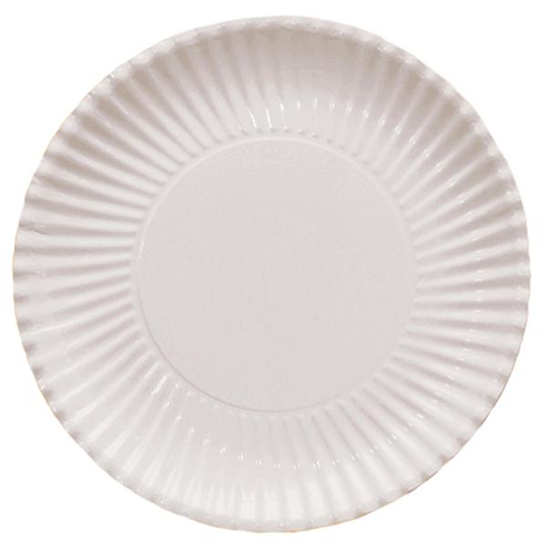 Lėkštutės-padėkliukai, balti (8 vnt./ 29 cm)
